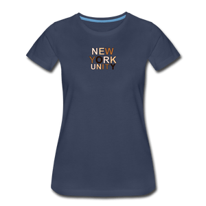 NYC Unity Women's Premium T-Shirt - navy
