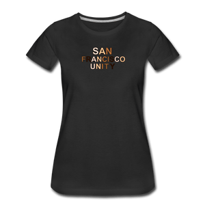 SF Unity Women's Premium T-Shirt - black