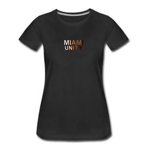 Miami Unity Women's Premium T-Shirt - black
