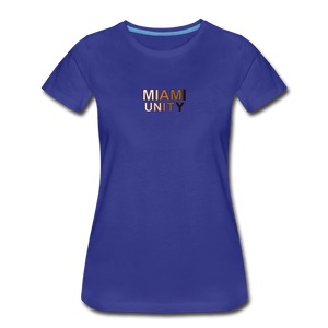 Miami Unity Women's Premium T-Shirt - royal blue
