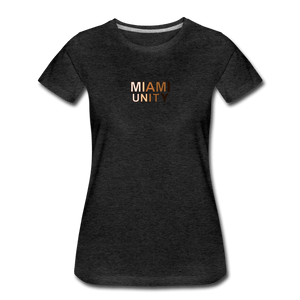 Miami Unity Women's Premium T-Shirt - charcoal gray