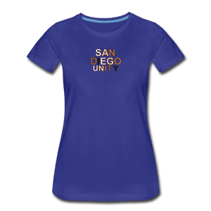 SD Unity Women's Premium T-Shirt - royal blue