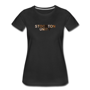 Stockton Unity Women's Premium T-Shirt - black