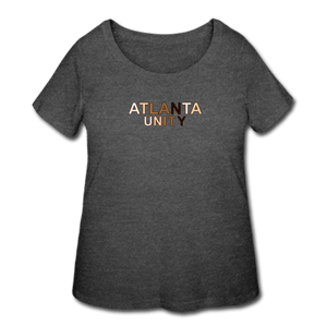 Atl Unity Women's Curvy T-Shirt - deep heather