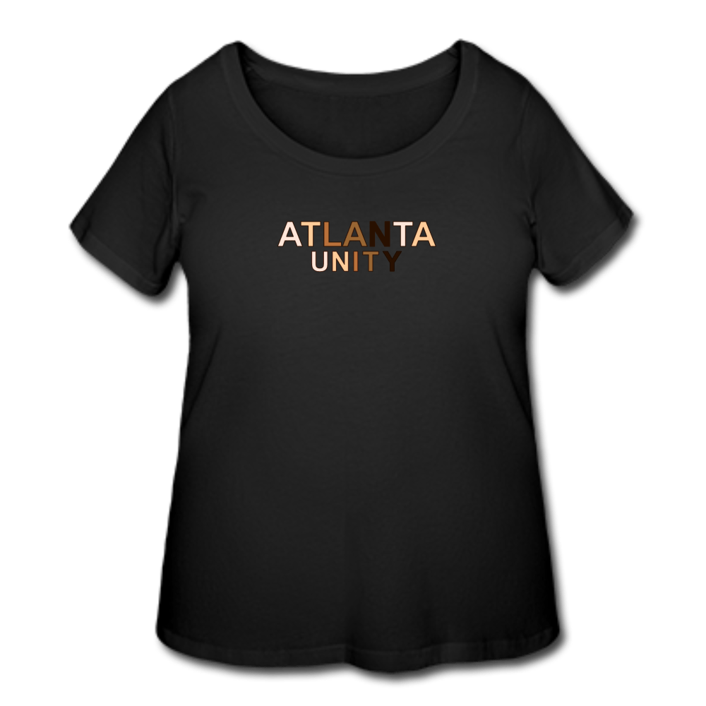 Atl Unity Women's Curvy T-Shirt - black