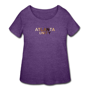 Atl Unity Women's Curvy T-Shirt - heather purple