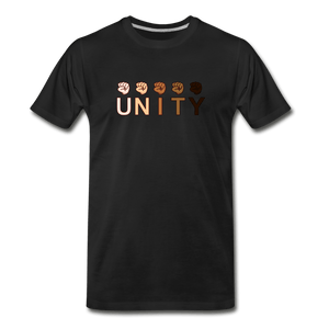 Unity Fist Men's Premium T-Shirt - black