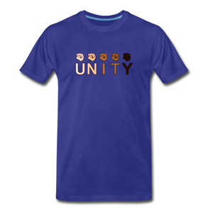 Unity Fist Men's Premium T-Shirt - royal blue