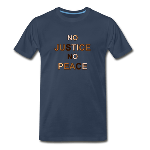 U NJNP Men's Premium T-Shirt - navy