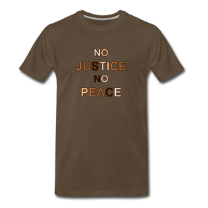 U NJNP Men's Premium T-Shirt - noble brown