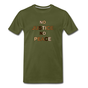 U NJNP Men's Premium T-Shirt - olive green