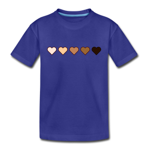 U Hearts Toddler Premium T-Shirt - royal blue