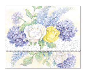 Roses & Hydrangeas Boxed Notecards