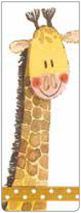 Alex Clark Magnetic Bookmark -Giraffe