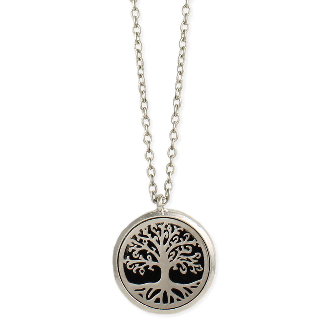 Rooted Tree Diffuser Necklace