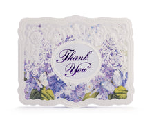 Load image into Gallery viewer, Lilacs & Butterflies Thank You Card Set