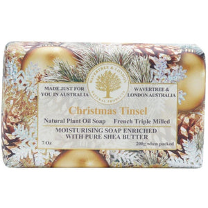 Christmas Tinsel Natural Bar Soap