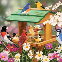 Load image into Gallery viewer, Feathered Friends 2021 (Item #9372W) - 12x12 Wall Calendar