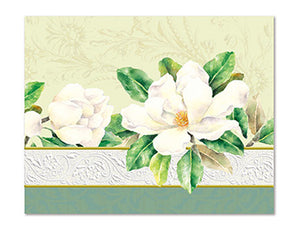 White Magnolia Boxed Notecards