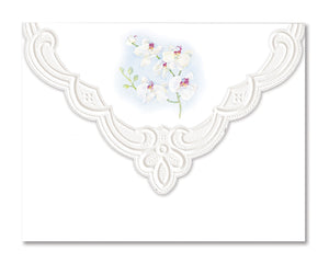 White Orchid Boxed Notecards
