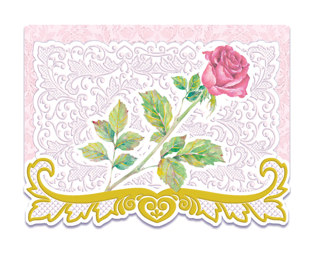 Red Rose Boxed Notecards