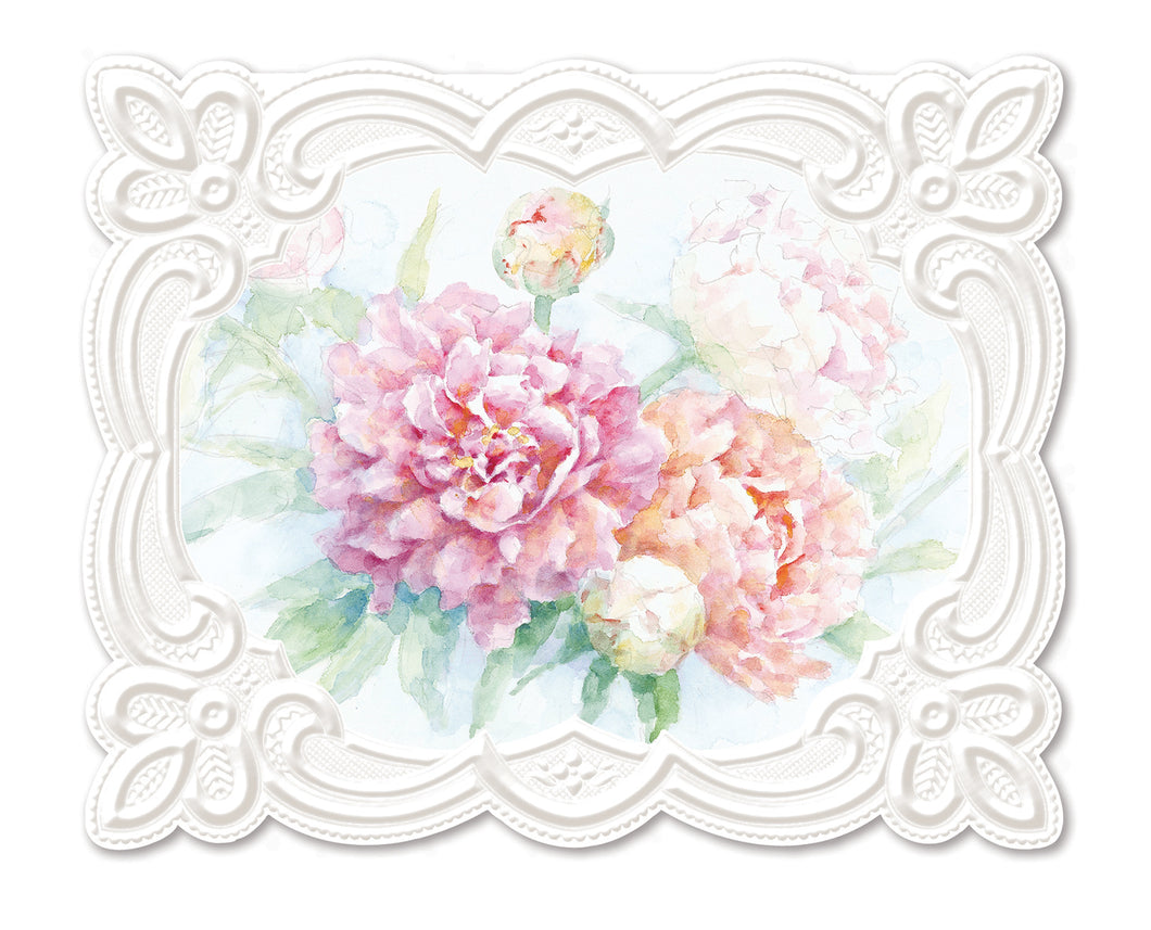 Peony Mix Boxed Notecards