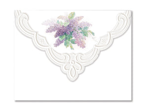 Summer Lilacs Boxed Notecards