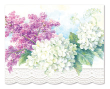 Load image into Gallery viewer, White Hydrangeas Boxed Notecards