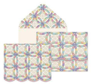 Wedding Ring Quilt Boxed Notecards