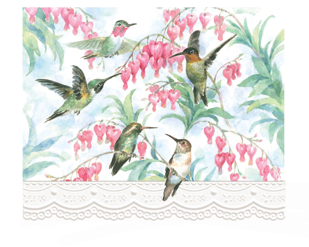 Hummingbirds Boxed Notecards