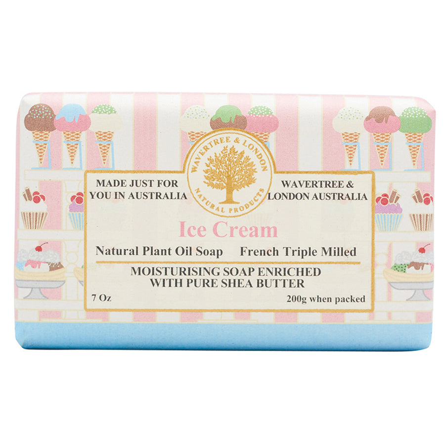 Ice Cream Natural Bar Soap