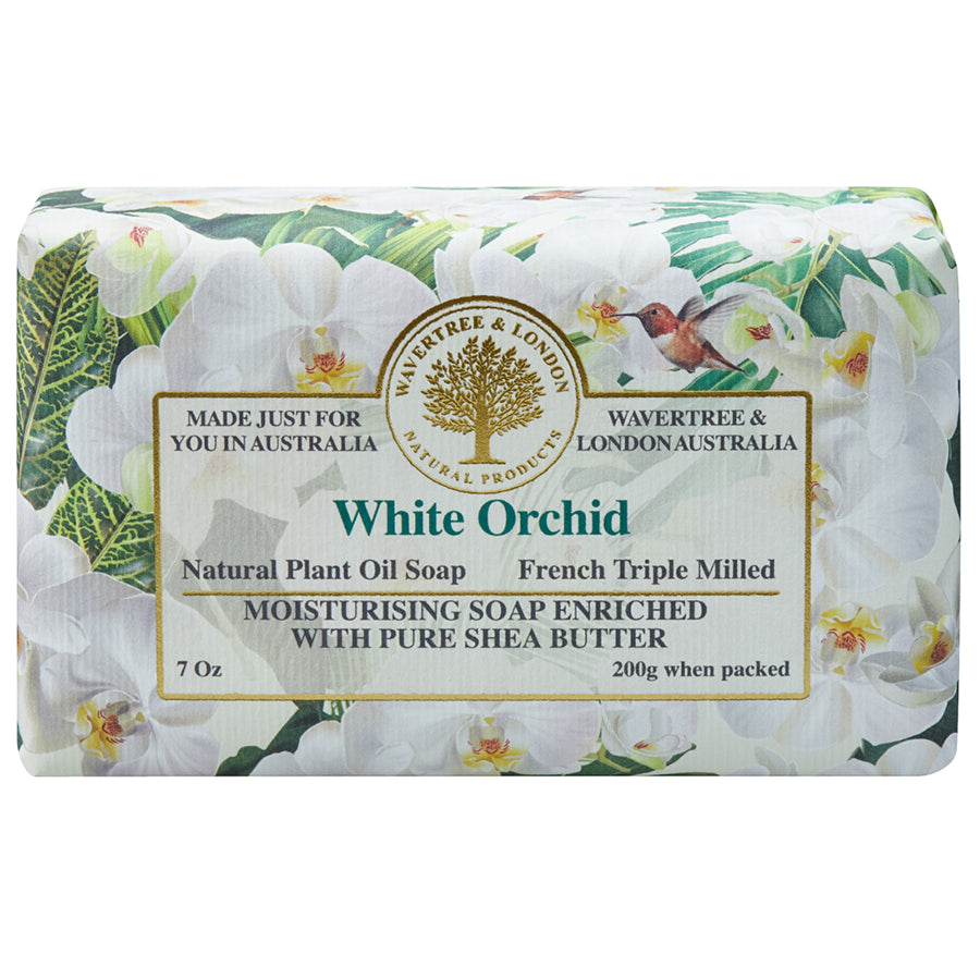 White Orchid Natural Bar Soap