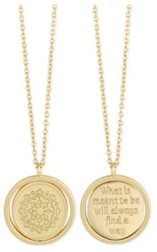 Zad Medallion Necklace - Meant to Be