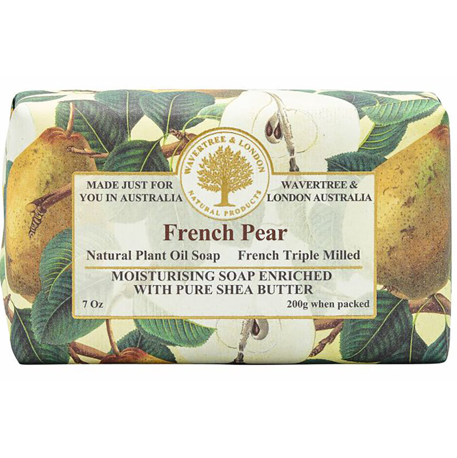 French Pear Natural Bar Soap