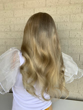 Load image into Gallery viewer, Custom Ash blonde BRAZILIAN human hair FULL LACE WIG