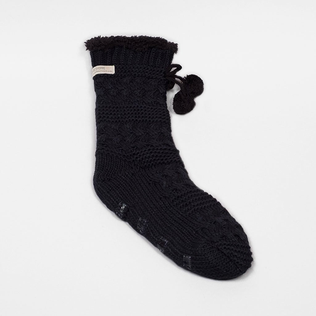 The Classic Lounge Sock - Black