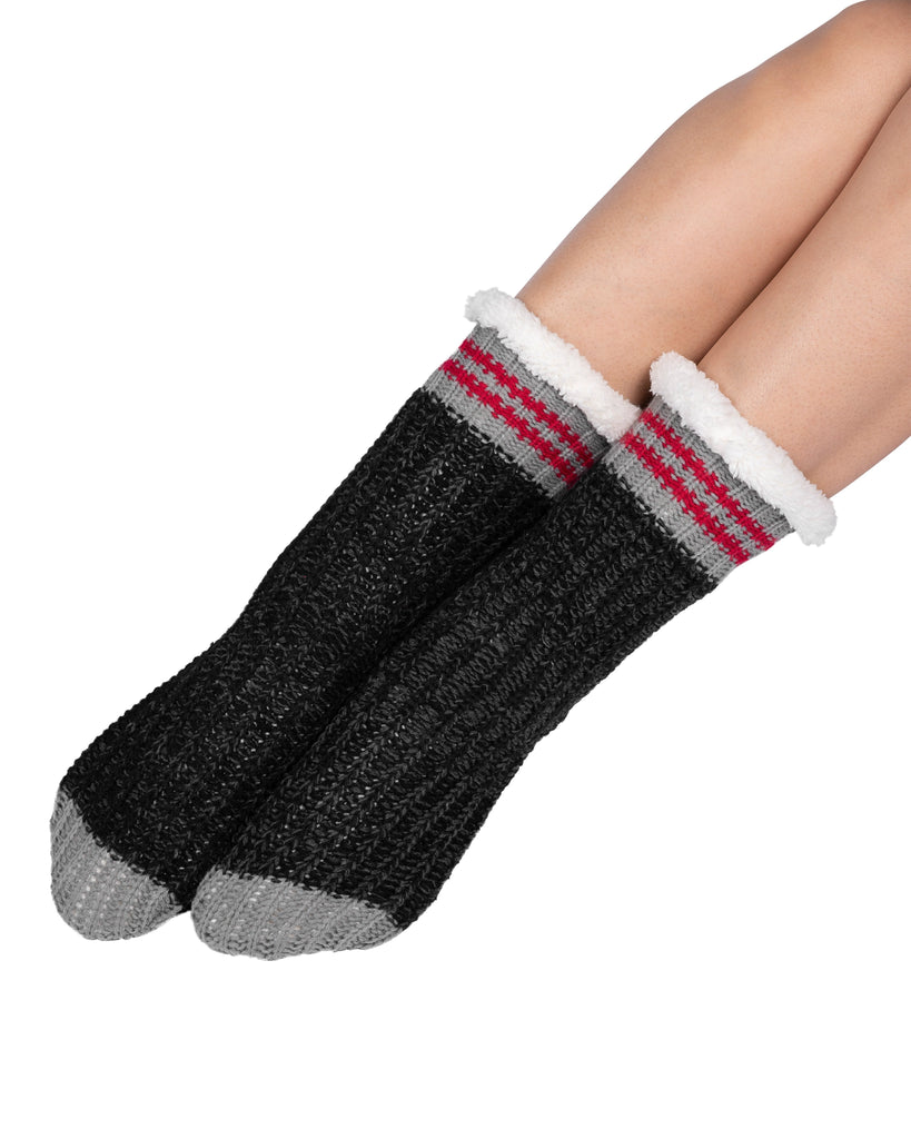 Canadiana Lounge Socks - Dark Smoked Pearl