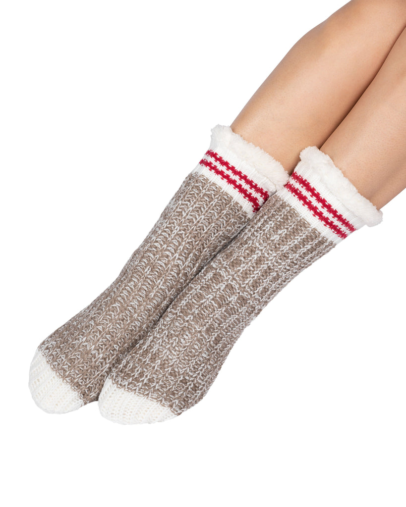 Canadiana Lounge Socks - Fungi
