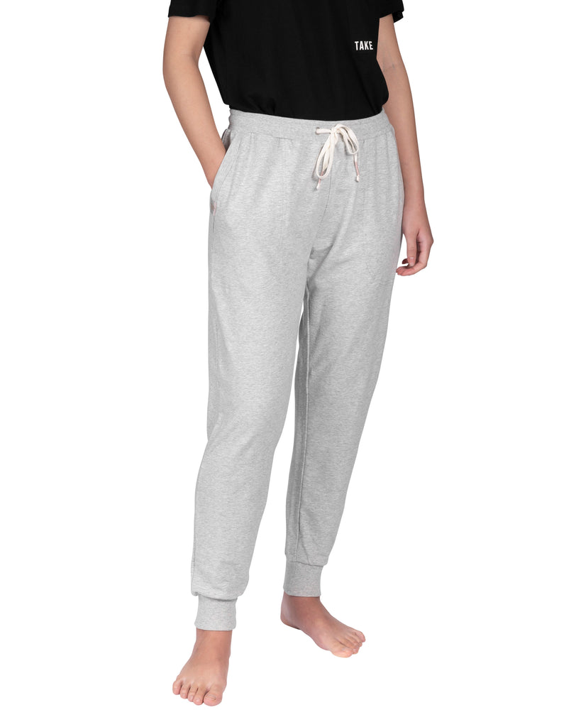 Take-Comfort Lounge Jogger - Grey Mix (Size M)
