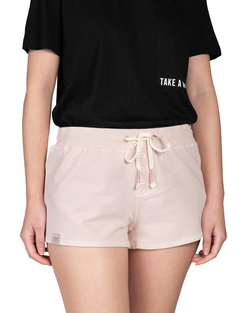 Take-Comfort  Lounge Short - Millennial Pink