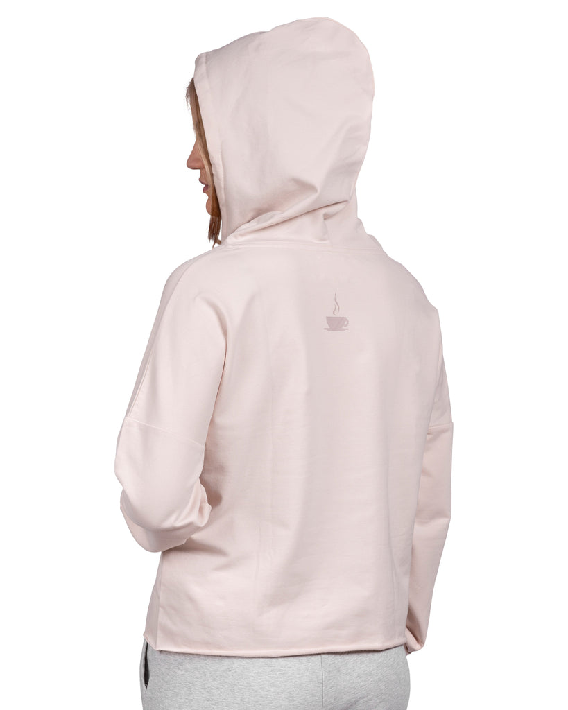 Take-Comfort Lounge Hoody with Kanga Pocket - Millennial Pink