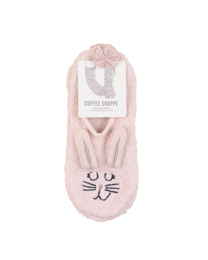 Marshmallow Animal Footlet - Bunny (Millennial Pink) S/M (5-7)