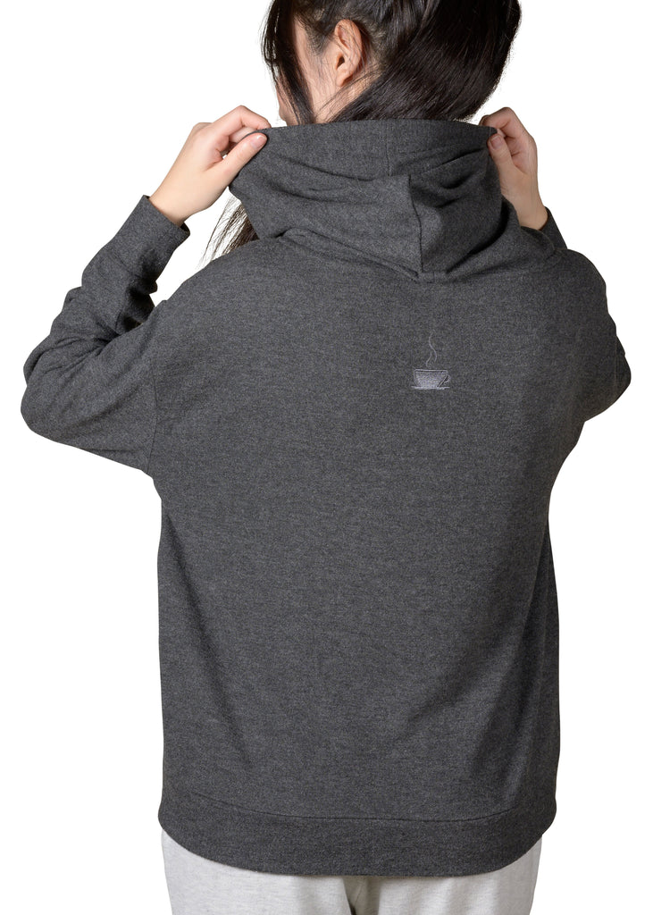 Slip-It-On Reading Hoody - Charcoal Mix