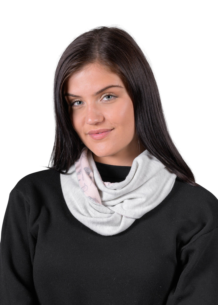 From Here to Infinity Scarf - Millennial Pink