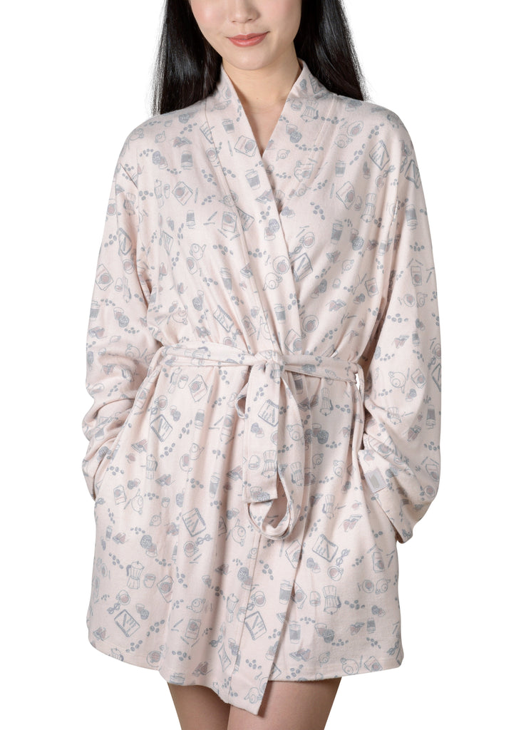 Java and Script Wrap-It-Up Reading Robe - Millennial Pink