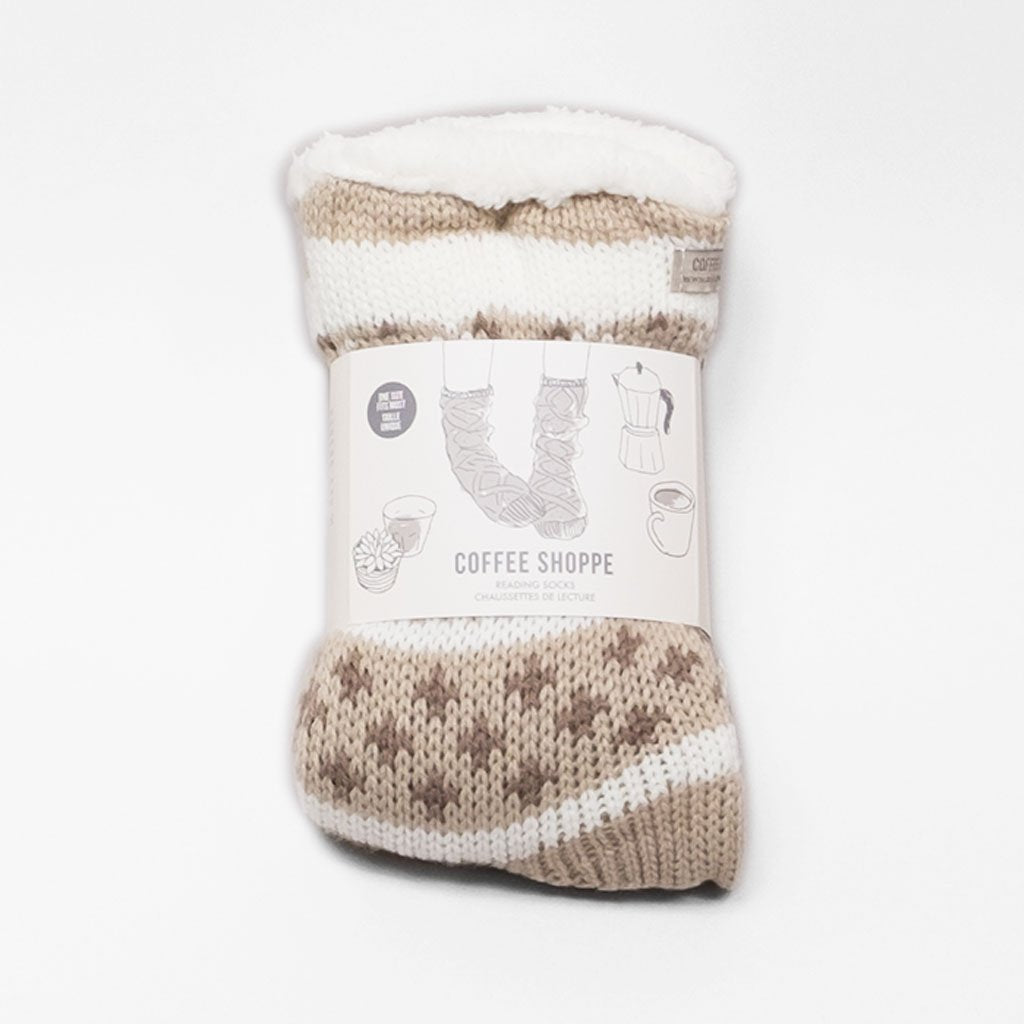 Favourite Novel Lounge Sock - Oatmeal