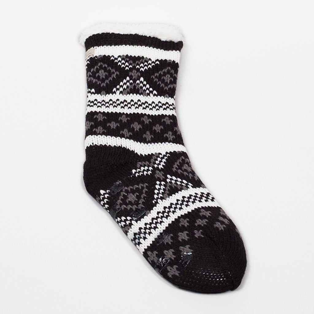 Favourite Novel Lounge Sock - Black