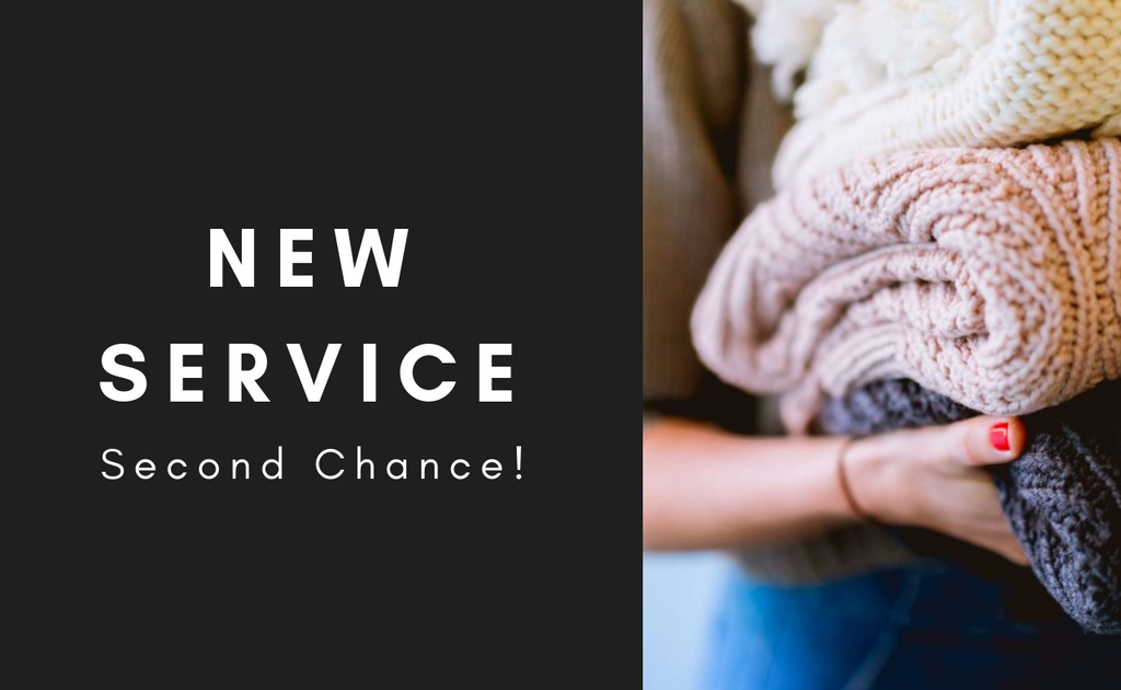 NEW SERVICE | Second Chance!