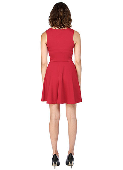 Jack red holiday party dress