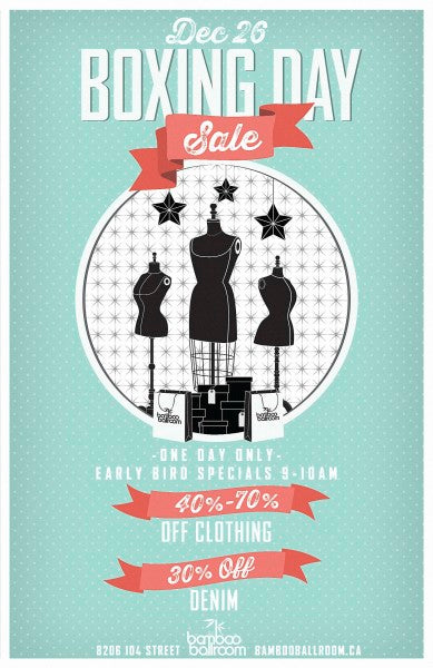 Boxing Day 2013 Sale